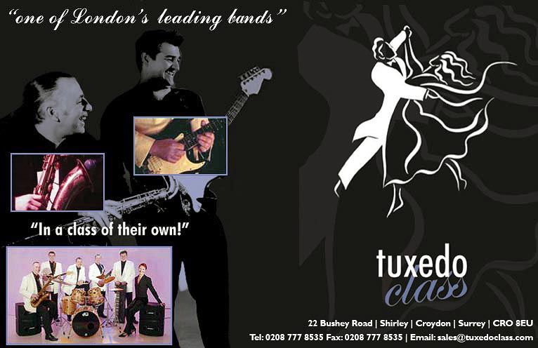 Tuxedo Class - Party Band, Live Entertainers, Live Music for Hire